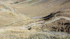 Trails nach dem Via Forcola