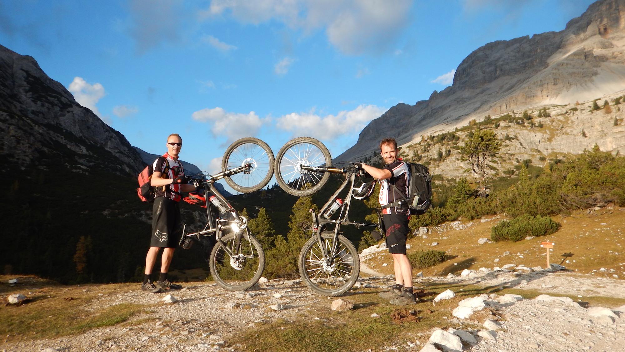 2014-11 // MTB Tour durch die Dolomiten