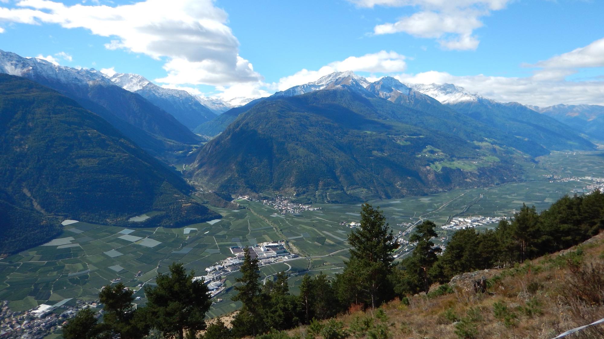 2016-10 // Trails um Latsch/Vinschgau